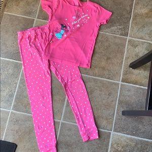 Carters pajama set size 10 girls